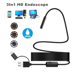 Security & Protection 2019 New Style Usafeqlo 7mm Diameter Camera 0.3mp 480p 6 Bright White Led Micro Usb Android Endoscope Waterproof Borescope Inspection Snake Cam