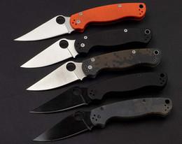 regalos patriotas Rebajas marca EDC C81 al aire libre portátil de bolsillo cuchillo plegable de color 3 herramientas de supervivencia G10 mango acampar regalo de alta calidad multi-función de los cuchillos plegables