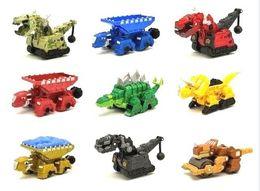 Nuovi camion di giocattoli online-Dinotrof Dinosaur Truck Rimovibile Dinosaur Toy Car Mini Modelli Nuovi Regali per bambini Giocattoli Modelli Mini giocattoli per bambini