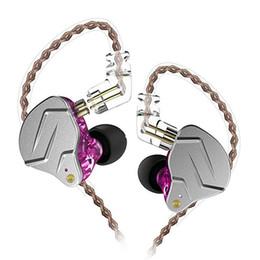 auriculares de color pro Rebajas Auriculares con cable KZ ZSN Pro Auriculares metálicos 1BA + 1DD Tecnología híbrida HIFI Auriculares bajos en el monitor del oído Auriculares deportivos con cancelación de ruido de 3.5 mm