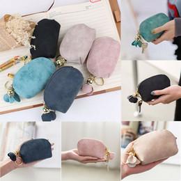 Moda Bayanlar PU Deri Mini Cüzdan Kart Anahtar Tutucu Zip Coin Purse Debriyaj Çanta supplier leather pur nereden deri pur tedarikçiler