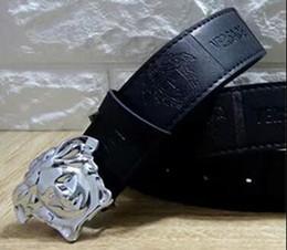 Togo sacs en Ligne-5A + Cristal 3D Ceinture Medusa Rose Noire Top Qualité Togo Epsom Sac En Cuir Noir Ceinture En Cuir D'agneau Noir Ceinture En Cuir Velours Ceinture