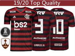 2019 tute da calcio tailandia Maglia da calcio Flamengo GABRIEL B. DIEGO Jersey 19 20 Tuta da allenamento 2019 di alta qualità della Thailandia S XXXL tute da calcio tailandia economici