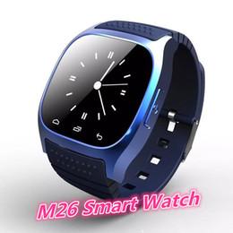 2019 android smart watch m26 Высокое качество M26 Bluetooth Спорт Смарт-часы с набором SMS Напомнить музыкальный плеер Шагомер для смартфона ios Android