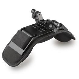 CAMVATE Soporte fijo para hombro / almohadilla para el hombro para videocámara Cámara DV / DC Sistema de soporte DSLR (15mm Railblock) desde fabricantes