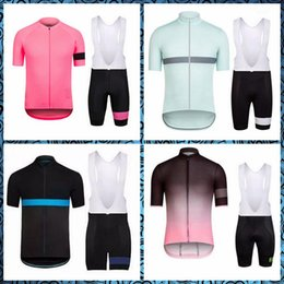 bicycle new style Coupons - RAPHA team Cycling Short Sleeves jersey bib shorts sets Outdoor Bicycle 2019 New 3D Gel Padded Summer Style Mtb Maillot Ciclismo U50811
