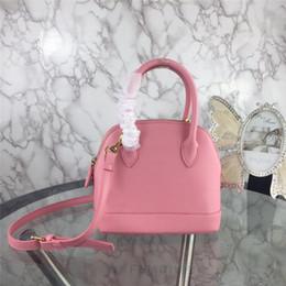 2019 modo di alta qualità Shell di borse in vera pelle di Crossbody della borsa a tracolla Tote Bags 5 colori da grande orologio di rosa fornitori