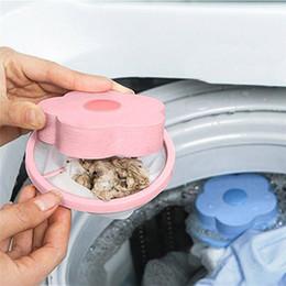 Mesh filters on-line-Flower-type Máquina de lavar roupa flutuante Lint Mesh Bag Depilação Limpo Filter Net Bolsa, Flutuante Máquina de Lavar Roupa Filtro Arruela fiapo