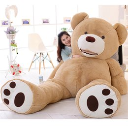 2019 enormes travesseiros de pelúcia América urso Enorme grande 260 cm / 102