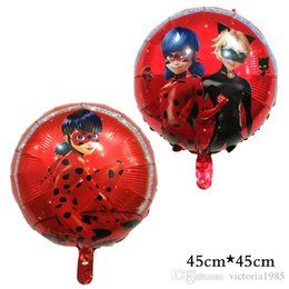 Palloncini gonfiabili di cartone animato online-DHL aumenta la spedizione New cartoon Foil Balloons Giocattoli gonfiabili Girl boy Balloon Birthday Party Decoration
