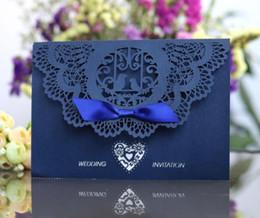 оптовые праздничные луки Скидка Новый высокое качество 4 шт. Набор короткие приглашения Tiffanyland лук обложка свадебные приглашения элегантный праздник поздравительные открытки Оптовая