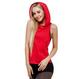 Рыхлая красная майка онлайн-Красный Цвет Лето Сексуальные Женщины Топы Сухой Быстрый Свободный Тренажерный Зал Фитнес Спорт Без Рукавов Жилет Синглетный для Бег Обучение # 103988