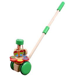 2019 i bambini primi giocattoli Giocattoli di legno per bambini Passeggino Passeggini per bambini Passeggini per auto Passeggino per roditori Animali del fumetto che spingono il giocattolo per auto i bambini primi giocattoli economici