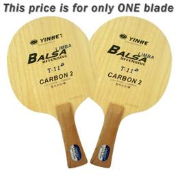 Tênis de mesa original on-line-Original Yinhe Via Láctea Galaxy T-11 + T 11 + T11 + lâmina de ping pong de ténis de mesa