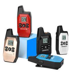 2019 icom uhf radios mini drahtloses Walkie-Talkie V10 ultra-dünnes Mini-Hotel Friseursalon Speise KTV Service-Industrie Anti-Interferenz-Handheld Walkie-Talkie