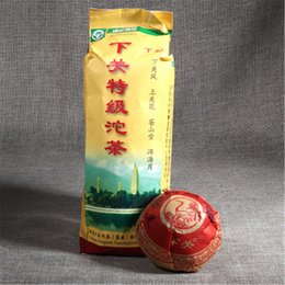 mini yunnan puer tè Sconti Preferenza 100g Yunnan Xiaguan Mini Tuocha di alta qualità Puer Tea Cake Raw Puer Tea Organic Natural Pu'er Albero più vecchio Green Puer Tea