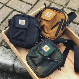 fashion canvas belts Coupons - Chest Pack sup Unisex Fanny Pack Fashion Waist Bag Men Canvas Hip-Hop Belt Bag Men Messenger Bags Small Crossbody Bag
