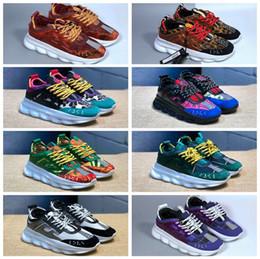 Nuevos colores Reacción en cadena Zapatillas deportivas para hombres, mujeres, ligeras ligeras ligadas suela de goma diseñador de la marca de lujo moda Zapatos casuales desde fabricantes