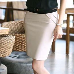 ropa de carrera de damas Rebajas Nueva moda mujer 4 colores faldas profesionales Oficina formal Ropa de mujer Falda delgada OL Faldas de trabajo