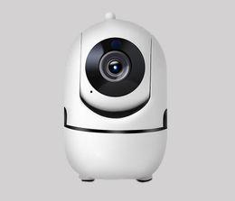 visión de la pista Rebajas 2019-NEW 1080P Auto Tracking Cámara IP WiFi Bebé Monitor de seguridad para el hogar Cámara IP IR Visión nocturna Cámara CCTV de vigilancia inalámbrica