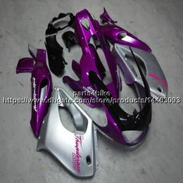kit de carenagem rosa yamaha Desconto 23 cores + 5Gifts + prata rosa ABS Carenagem para yamaha YZF1000R 1996 1997 1998 1999 2000 2001 2002 2003 2004 2005 2006 2007 Body Kit motorcycle