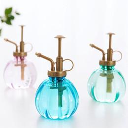 2019 acqua bonsai Lattine a forma di zucca 3 colori giardino irrigazione strumento Spray bottiglia spruzzatore a pressione per piante grasse bonsai fiore 3 pezzi ePacket sconti acqua bonsai