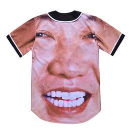 camicie online Sconti Moda 3D Uomo Baseball Shirt Sport Jersey di buona qualità con vendita online pulsante