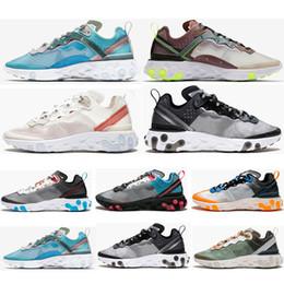 sports shoes 997b2 4d7cc 2019 sand schuhe für männer React Element 87 Epic React Element 87  Laufschuhe für Damen Damen