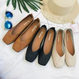 2019 Yaz Ve Sonbahar Kare Kafa Düz Ayakkabı Kadın Tembel Shoesbrand Yeni Sıcak Satış Basit Stylebrand Yeni Sıcak Satış Basit Stil% 40 nereden