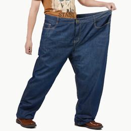 Acquista Biker Jeans Uomo Pantaloni Larghi Jeans Larghi Uomo Jeans Skinny Pantaloni Larghi Pantaloni Di Cotone Jean Fashion Streetwear Autunno A $35.2