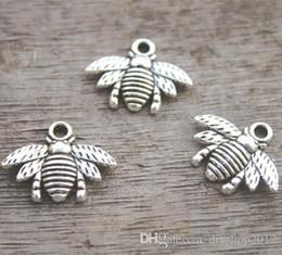 - Bee Bee Honeybee encantos bronce encantador Encanto Colgante 16x21mm 35 un