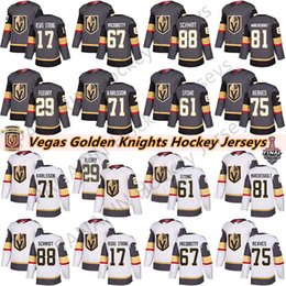 steve yzerman jersey pas cher Promotion Vegas Golden Knights 29 Marc-André Fleury 75 Ryan Reaves 71 William Karlsson 61 Mark Ston 67 Max Pacioretty Hommes Enfants Femmes Hockey Maillots