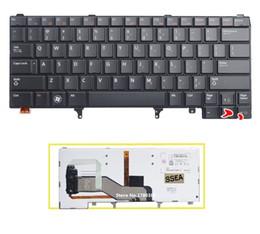 latitud del portátil Rebajas Teclado SSEA NEW US con luz de fondo para Latitude E5420 E5430 E6220 E6420 E6320 E6330 E6430 Laptop teclado