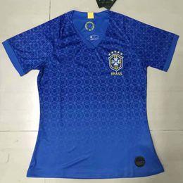 38e338df9 WOMEN 2019 20 Brasil soccer jerseys female Brazil Jersey 2019 2020 JESUS  COUTINHO FIRMINO football kit shirt camisa Football Shirt G.JESUS