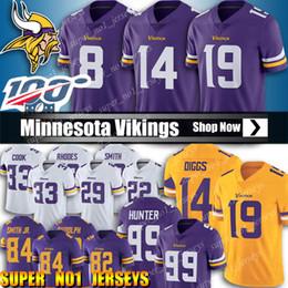 camisetas vikingos minnesota Rebajas 19 Adam Thielen Jersey 14 Stefon Diggs jerseys de 8 Kirk Cousins Jersey Minnesota jerseys de Viking 33 Dalvin Cook Harrison Smith jerseys Rudolph