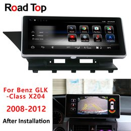 Android 8.1 Octa 8-Core 4G + 64G Autoradio GPS Navigation WiFi Head Unit Bluetooth Bildschirm für Mercedes Benz GLK 2008-2012 GLK Klasse von Fabrikanten