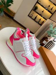Geschenk weg online-1A4VYA designer schuhe Beste Geschenk Für Echtes Leder Mischfarben Run Away Designer Sneaker Luxus Schuhe Marke Frauen Freizeitschuhe 35-41