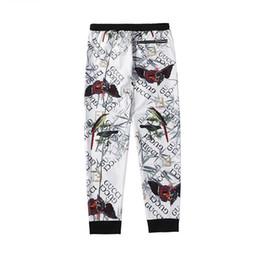 huellas de animales Rebajas Pantalones de chándal de diseñador Marca casual para hombre Letras con cremallera Escultura y Animal Print Pantalones Hip Hop Moda Streetwear Pantalones Hombre Joggers de lujo