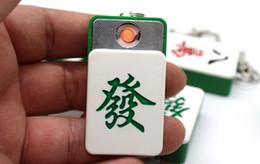 2019 chave isqueiro usb Venda quente Criativo Mahjong Forma USB Chave de Carregamento Pingente USB Isqueiros Recarregáveis Isqueiros Presente Frete Grátis Eletrônico chave isqueiro usb barato
