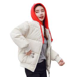 Sıcak satış Büyük Kürk Yaka Kapşonlu Coat Kadınlar Orta uzun Kış Yeni Ceket Ekmek Takım Kısa Pamuklu Ceket 602 supplier long bread nereden uzun ekmek tedarikçiler