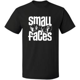 cortos de la banda de rock Rebajas Logo Small Faces Band Inglés Rock Band Retno ENVÍO GRATIS CAMISETA S-3XL Camiseta de manga corta Moda Moda