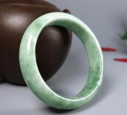 Canada Produits naturels authentiques bracelet de jade couleur jade modèles féminins Guizhou Cui vert clair fleurs flottantes Offre