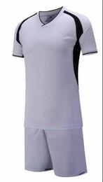 Nouvelle arrivée pas cher haute qualité maillot de football soccer uniforme de football kit Aucun kit d'uniformes de marque Nom personnalisé Custom LOGO Blanc ? partir de fabricateur