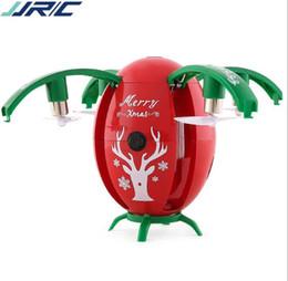 ch rc helicóptero Rebajas JJRC H66 Huevo de Navidad WIFI FPV Selfie Drone Modo de Sensor de Gravedad Altitud Mantener RC QuadCopter RTF para niños Regalo de Navidad Presente