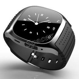 Oppo bluetooth on-line-Varejo m26 smartwatches dispositivo wearable dispositivo sem fio bluetooth smart watch para iphone s10 huawei oppo xiaomi pk dz09