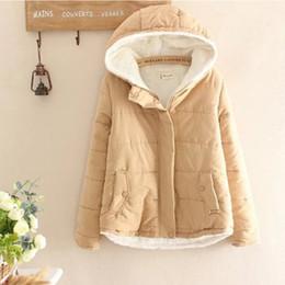 f8eff5b9e47 2019 Women Fleece Parkas Coat New Korean Style Casual Loose Jackets Warmer  Pink Khaki Velvet Coat Winter For Women discount korean style coats for  women