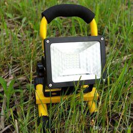 luces de emergencia vintage Rebajas Al por mayor-Venta impermeable IP65 30W 24 LED Luz de inundación Lámpara de emergencia portátil al aire libre Luz de trabajo