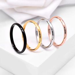 toe rings china Desconto Minimalismo 1mm 2mm Aço Inoxidável Anéis Finas Tamanho 3-10 Anel de Banda Mens Anéis Dedo Do Pé Para As Mulheres e Homens de Jóias Por Atacado