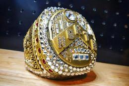 Toronto Raptors 2018 2019 Campeonato Fan anillo de los hombres regalo de la promoción al por mayor caída de envío desde fabricantes