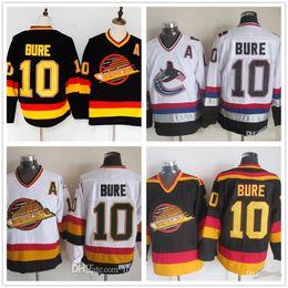 78f6970e07a Wholesale Men Vancouver Canucks Ice Hockey Jerseys Cheap 10 Pavel Bure  Vintage Authentic Stitched Jerseys Mix Order on sale